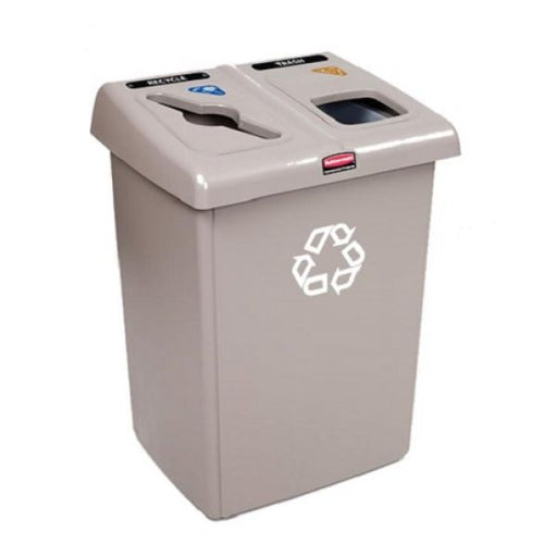 Two Stream Glutton Recycling Station - 174 Litre Techni-Pros - techni-pros