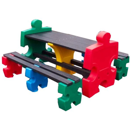 Jigsaw Table & Bench Set - 8 Seater Techni-Pros - techni-pros