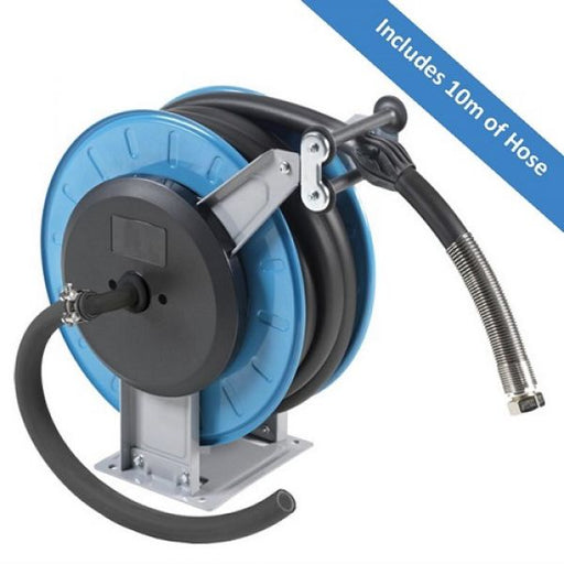 VGL Series 10 Metre Retractable Hose Reel for Diesel - techni-pros