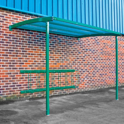 Wall Mounted Cycle Shelter Techni-Pros - techni-pros