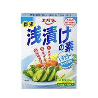 Ebara Asazuke No Moto, Japanese style pickles Powder 0.49oz x 4packs, one bag-Soyum Foods