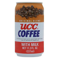 UCC Original Coffee with Milk, 11.3- Fl. Oz Cans (Pack of 24)-Soyum Foods