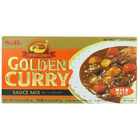 S&B Golden Curry Sauce Mix, Mild, 7.8-Ounce (Pack of 5)-Soyum Foods