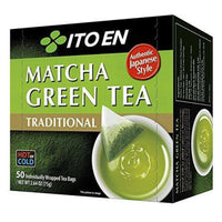 Ito En Traditional Matcha Green Tea, 50 Count-Soyum Foods