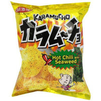 Koikeya Karamucho Potato Chips, Spicy Seaweed, 2.01 Ounce (Pack of 12)-Soyum Foods