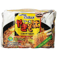 Sapporo Ichiban Chow Mein, 18 Ounce-Soyum Foods