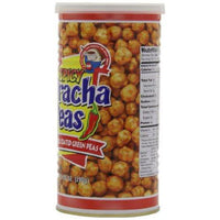 Hapi Spicy Sriracha Peas, Chili garlic Coated Gren Peas, 9.9-Ounce (Pack of 3)-Soyum Foods