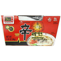 Nongshim Shin Bowl Noodle Soup, Gourmet Spicy, 3.03 Ounce (Pack of 12)-Soyum Foods