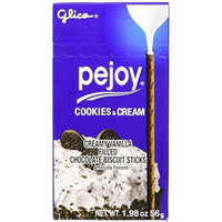 Pejoy Biscuit Stick, Cookies and Cream, 1.98 Ounce (Pack of 10)-Soyum Foods