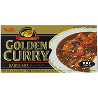 S&B Golden Curry Sauce Mix, Hot, 8.4-Ounce (Pack of 5)-Soyum Foods