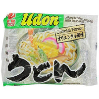 Myojo Udon Japanese Style Noodles with Soup Base, Oriental Flavor, 7.22-Ounce Bag (Pack of 15)-Soyum Foods