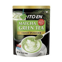Ito En Matcha Green Tea, Sweet Powder, 17.5 Ounce (Pack of 1), Sweetened Green Tea Powder, Antioxidant Rich, Good Source of Vitamin C, Japanese Matcha Powder Mix-Soyum Foods