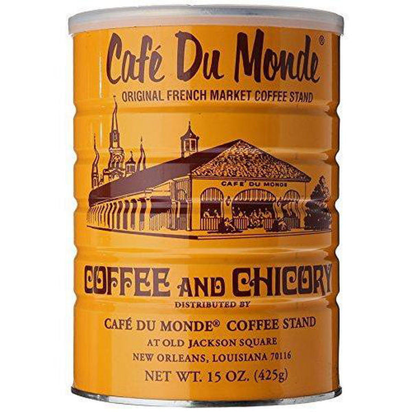 Cafe Du Monde Coffee Chicory, 15 Ounce Ground-Soyum Foods