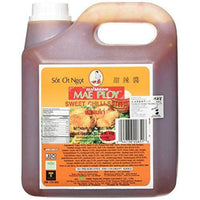 Mae Ploy Thai Sweet Chilli Sauce (8.8 Pounds Total 108oz) Huge Jug Versatile Dipping Sauce-Soyum Foods