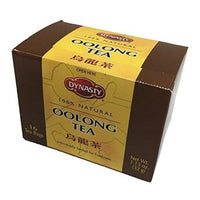 Dynasty 100% Natural Tea 16 Individual Tea Bags Per Pack (Oolong, 6 Pack)-Soyum Foods