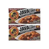 House Foods Java Curry Hot 6.52oz, 2 Pack-Soyum Foods