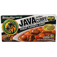 House Foods Java Curry Hot, 6.52-Ounce Boxes (Pack of 10)-Soyum Foods