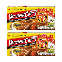 [ 2 Packs ] House Foods Vermont Curry Mild 8.11 Oz (230g)-Soyum Foods