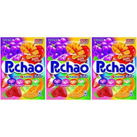 Puchao Gummy n' Soft Candy, 4 Fruits Flavors, 3.53 Ounces, Pack of 3-Soyum Foods