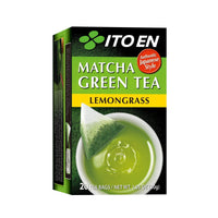 Ito En Lemongrass Matcha Green Tea (20 Tea Bags) 1.05 oz Box - Single Pack-Soyum Foods
