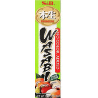 S&B Premium Wasabi Paste in Tube, 1.52 Ounce-Soyum Foods