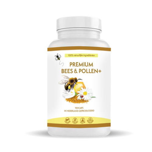 Premium Bees & Pollen+ supplement