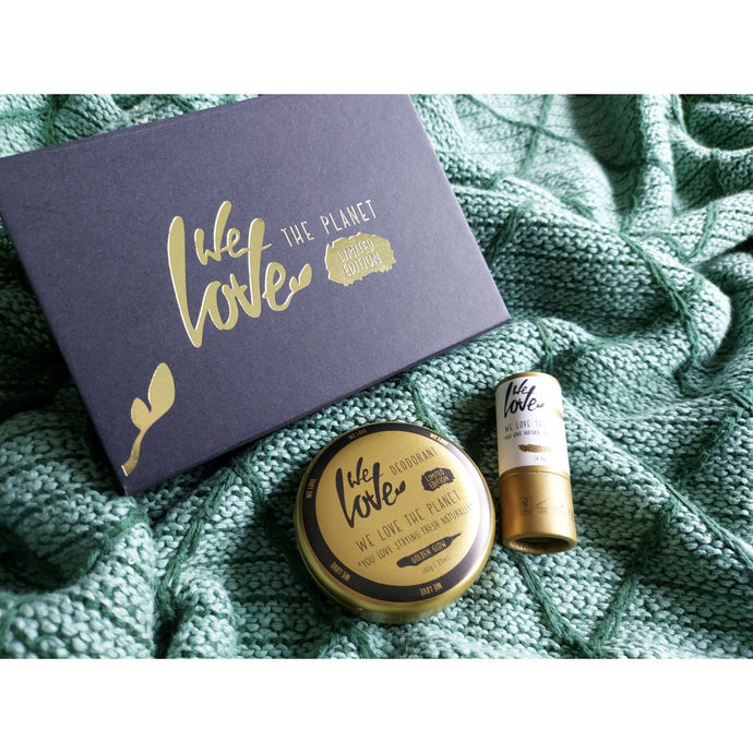 We Love The Planet - Limited Edition Golden Gift Set