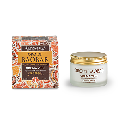 By The Green Style: Baobab dagcreme voor droge huid Classic pack (50 ml)
