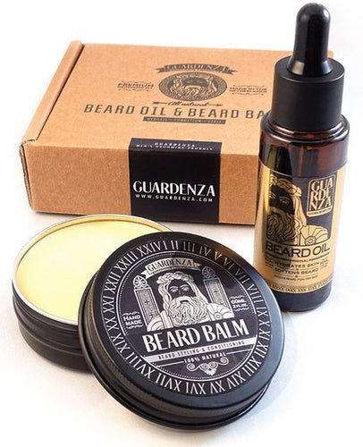 Guardenza Baardset - Baardbalsem 60 ml & Baardolie 30 ml