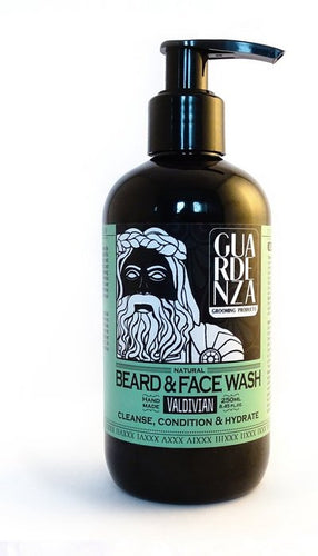 Guardenza Baard & Face wash - 250 ml - baardshampoo - gezichtsreiniger