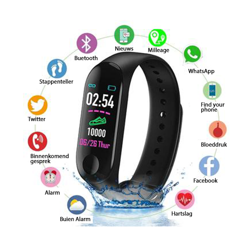 Smart Watch Waterproef
