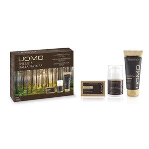 The Green Style: Uomo Cadeauverpakking Gezichtscreme, aftershave balm + zeep