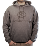 Hooded Sweatshirt Heather Black