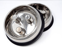 Stainless Steel Slow Feeder Bowls