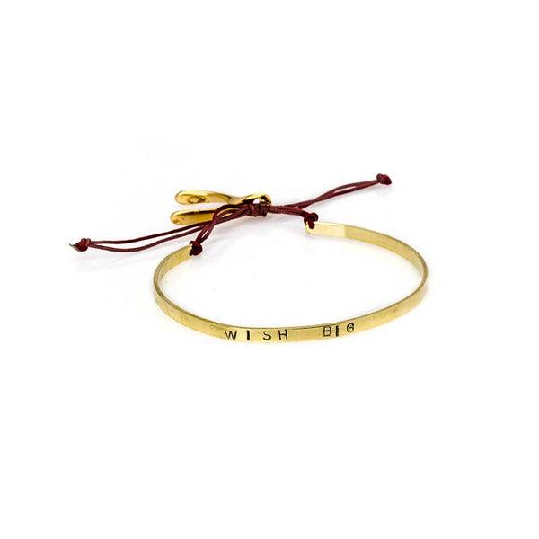 Wish Big Bracelet-Gold