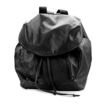 Load image into Gallery viewer,  back-bag kiara, leather bag black