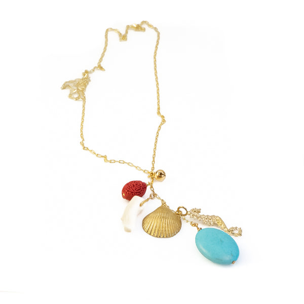 Benthos Necklace-Gold