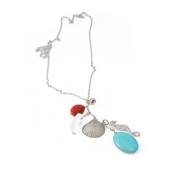 Benthos Necklace-Silver