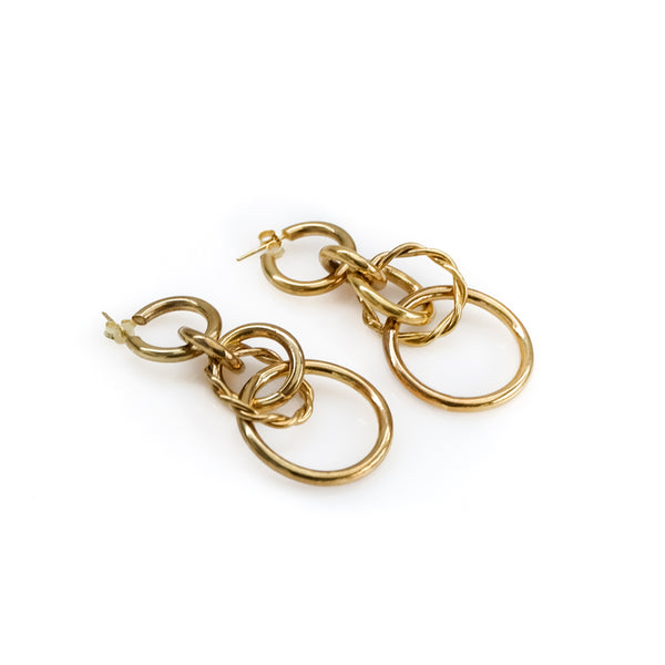 Harlow Earrings-Gold