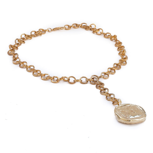 Kairos Necklace-Gold