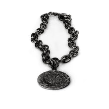 Load image into Gallery viewer, 3rdfloor handmade jewellery Liam pendant black