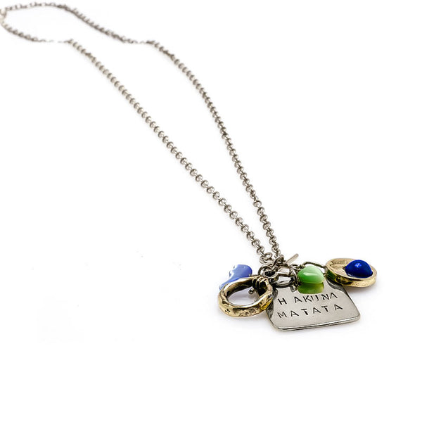 Lucy Necklace-Silver