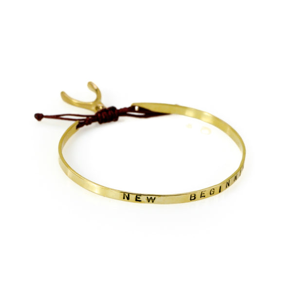 New Beginning Bracelet-Gold