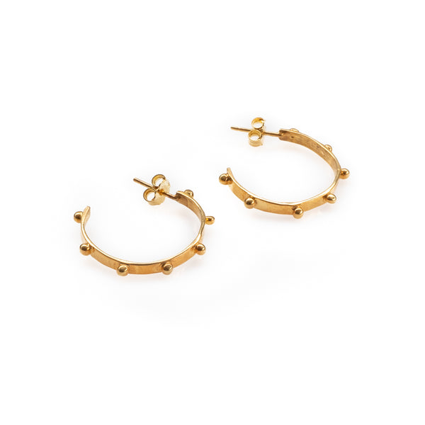 Dubai Earrings-Gold