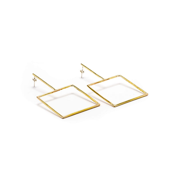 Peyton Earrings-Gold