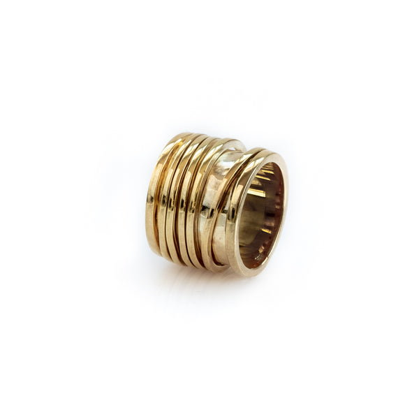 Milan Ring-Gold