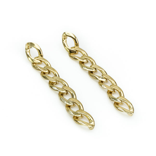 Bilboe Earrings-Gold