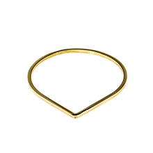 Load image into Gallery viewer, Handmade Bracelet Shape Drop-Gold