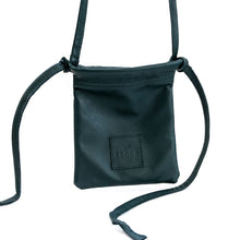 Load image into Gallery viewer, cross handmade  gogo leather bag green