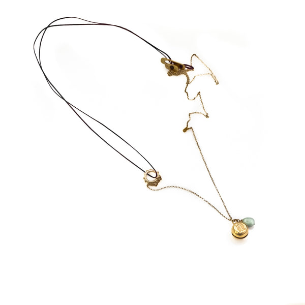 Turtle Luck Necklace-Gold